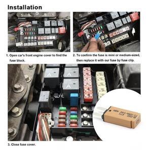 Автоматический сброс автоматического выключателя цепи, предохранитель для автомобилей, грузовиков, лодок, 14 В постоянного тока, 5 А, 7,5 А, 10 А, 15 А, 20 А, 30 А, автоматическое восстановление|Перемычки|   | АлиЭкспресс