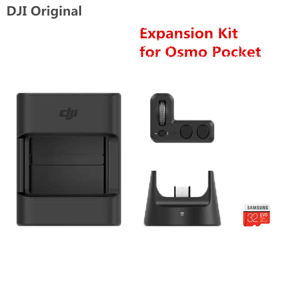 DJI Osmo Pocket Expansion Kit Controller Wheel Wireless Module Accessory Mount for DJI OSMO Pocket Accessories OriginalDJI Osmo Pocket Expansion Kit Controller Wheel Wireless Module Accessory Mount for DJI OSMO Pocket Accessories Original