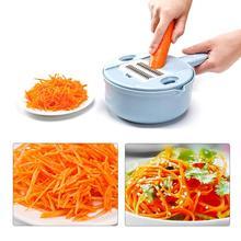 Многофункциональное устройство резки овощей и фруктов набор кухонный измельчитель многоцелевой терка для приготовления Жульена яйцо белый сепаратор кухонный полезный инструмент