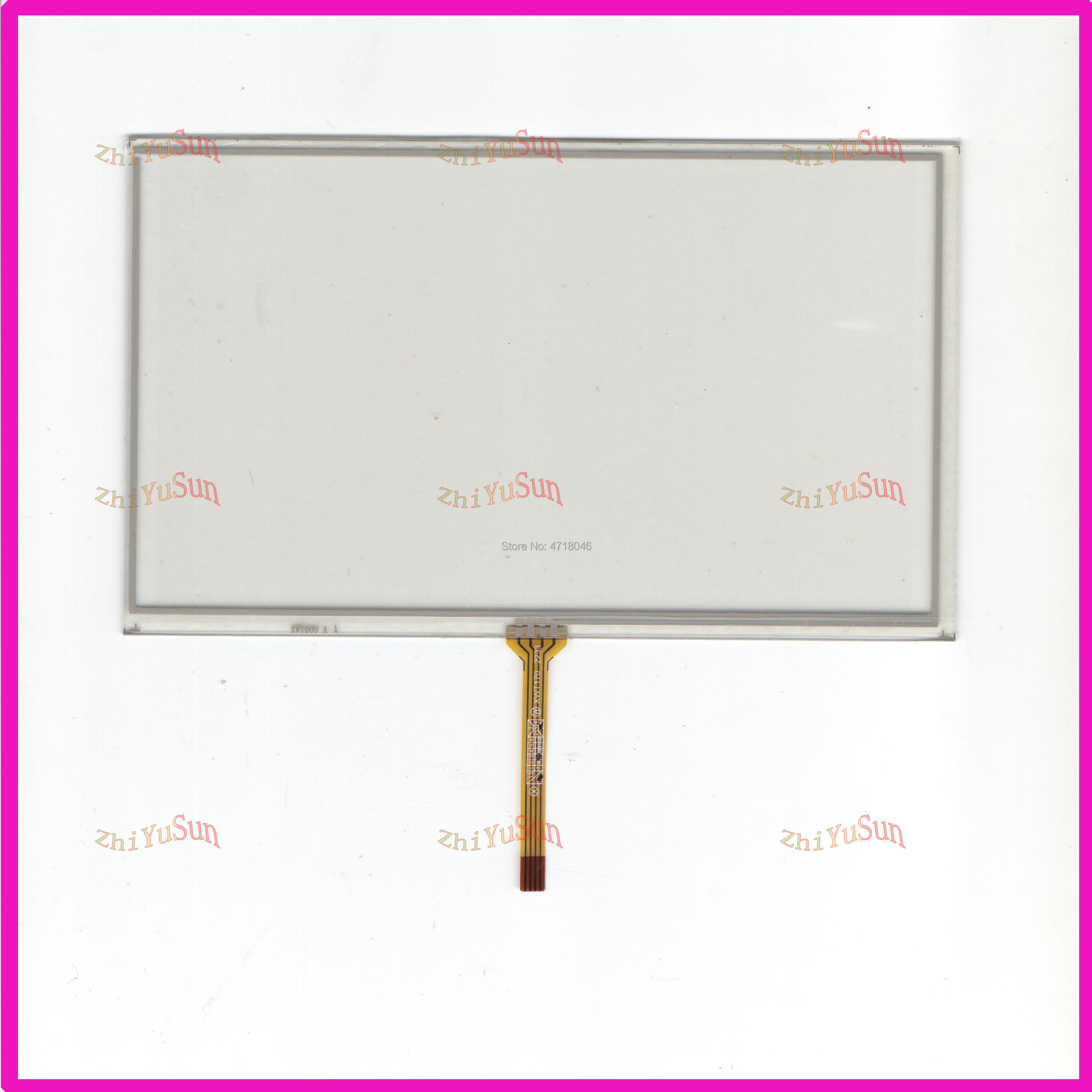 ZYS For 7010B 4lines Resistance Screen This Is Compatible Touchsensor  Glass This Is Compatible