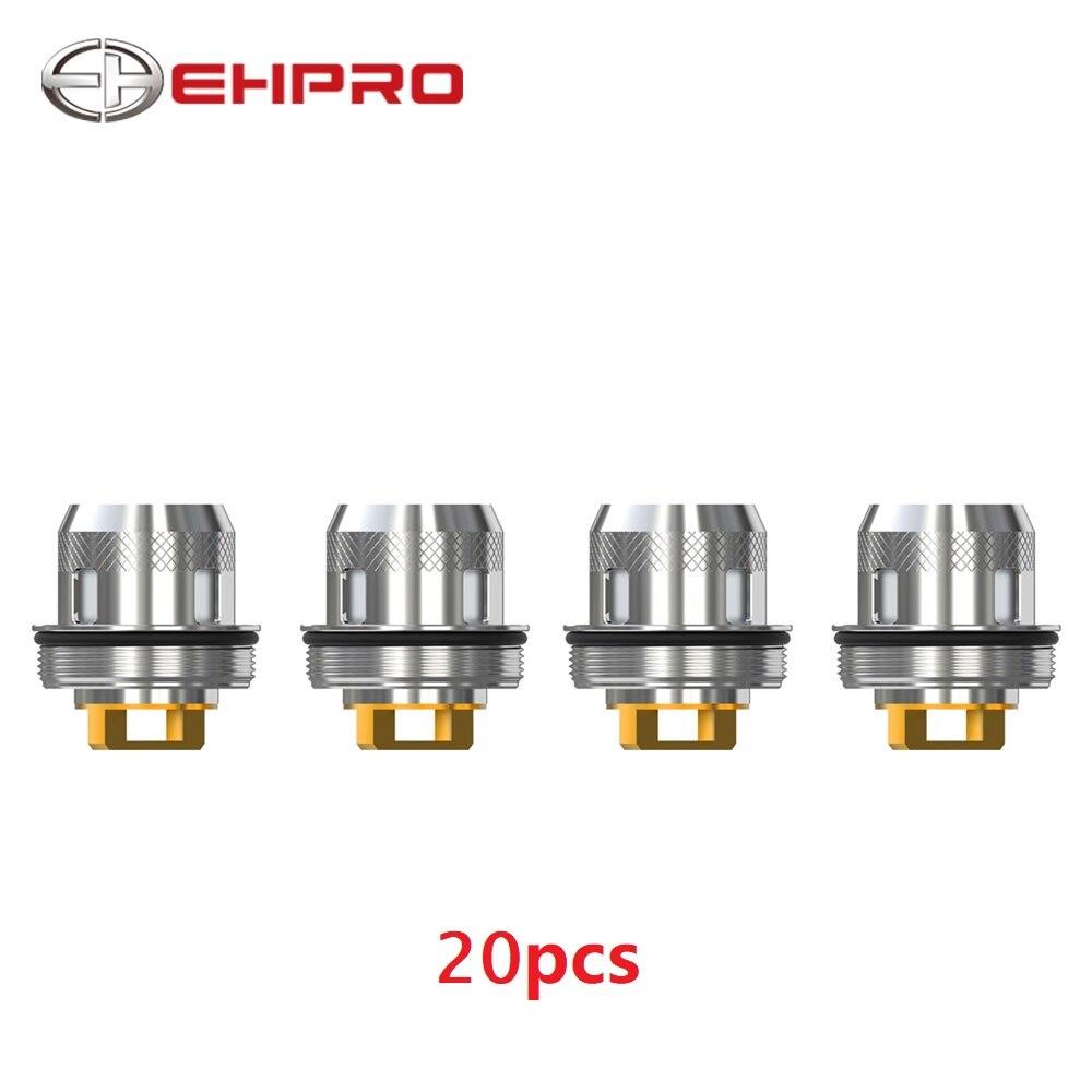 20 pièces Ehpro M 101 Atomiseurs de remplacement 0.3ohm Tête De Réservoir pour Ehpro M 101 Subohm Réservoir E-cigarette Vape Bobine Pièce de rechange pour Atomiseur