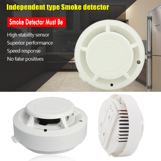 PVC shell House Home Security Battery powered Cordless