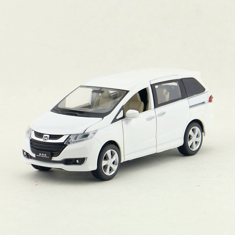 1:32 Scale/diecast Metal Toy Model/honda Odyssey Mpv Car/sound & Light/pull Back Educational/gift For Children/collection Skillful Manufacture Toys & Hobbies