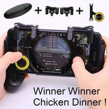 EastVita PUBG Mobile Controller for iPhone Android Phone Game Pad Mobile Gaming Gamepad Joystick L1 R1 Triggers L1RI Fire Button(China)