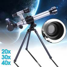 HD Outdoor Monocular Space Astronomical Telescope With Portable Tripod Spotting Scope 20X-40X 60MM Telescope