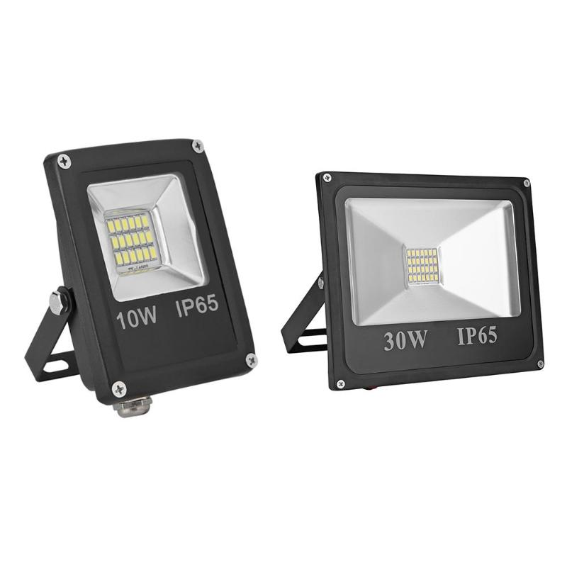 LED Floodlight IP65 Waterproof LED Flood Light 12V 6500K Outdoor Wall Projector Floodlight