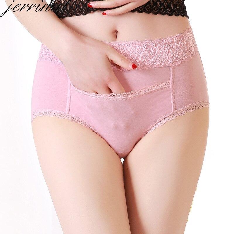 Jerrinut Sexy Physiological Warming Palace Underwear Waterproof Pockets Seamless cotton   Panty   Plus Size XL XXL XXXL XXXXL Pants