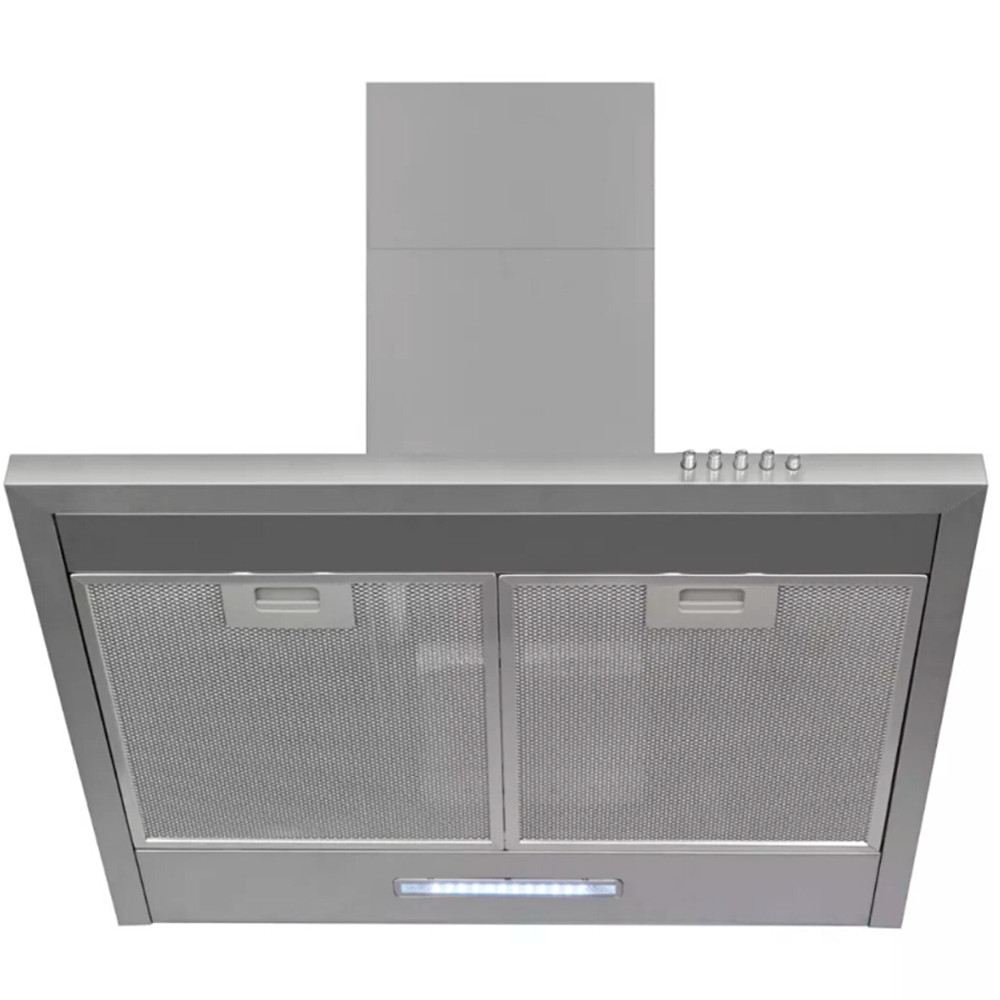 ><font><b>VidaXL</b></font> 220-240 V 180 W High Quality Ultra Quiet And Powerful Extractor Hood Stainless Steel Hood <font><b>Kitchen</b></font> Furniture