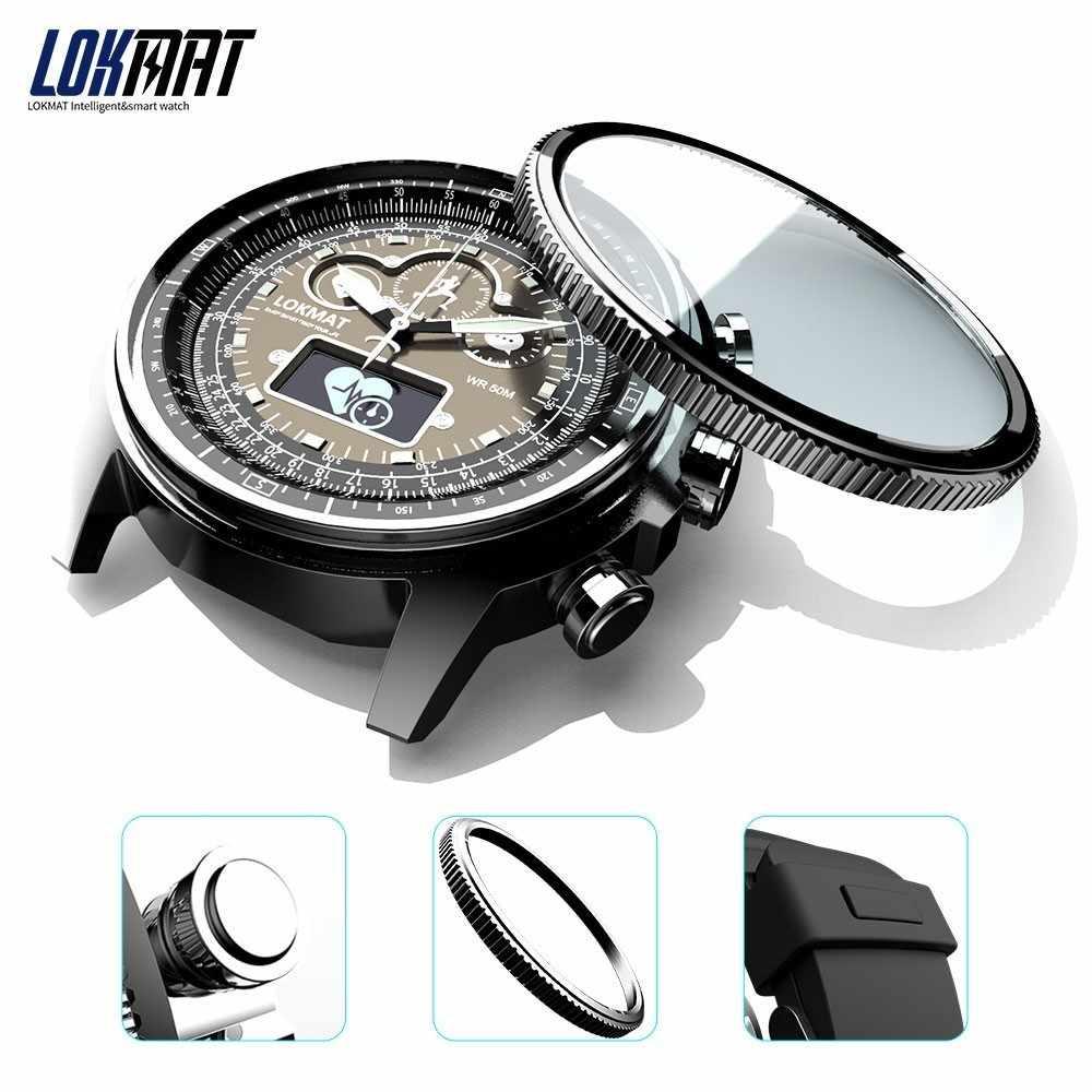 88b397053 ... LOKMAT Bluetooth Smart Watch Sport Waterproof pedometers Information  Reminder digital men clock smartwatch for ios Android ...