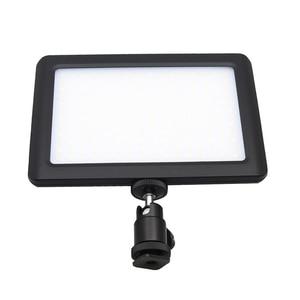 Image 2 - LED 一眼レフカメラビデオカメラ連続光、バッテリーと USB 充電器、キャリーケース写真写真ビデオスタジオ黒