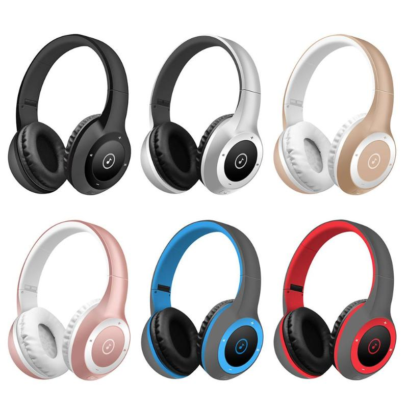 T8 Wireless Bluetooth Headphone Stereo HIFI MP3 Sports Headset Headband Earphone Support TF Card Bluetooth Earphone New Arrival