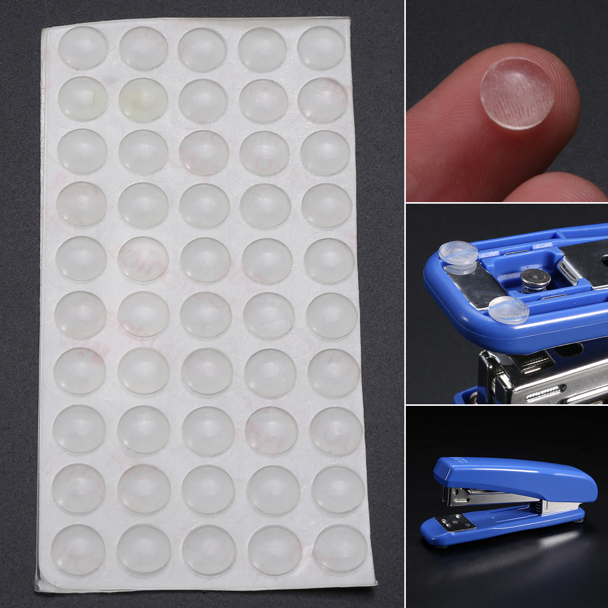 50Pcs  Self Adhesive Door Buffer Pad Rubber Silicone Feet Cabinet Drawers Clear Semicircle Bumpers Furniture Door Accessories50Pcs  Self Adhesive Door Buffer Pad Rubber Silicone Feet Cabinet Drawers Clear Semicircle Bumpers Furniture Door Accessories