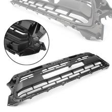 Передний верхний бампер, капот решетка гриль для Марка Toyota Tacoma 2012 2013 2014 2015 Черный ABS пластик