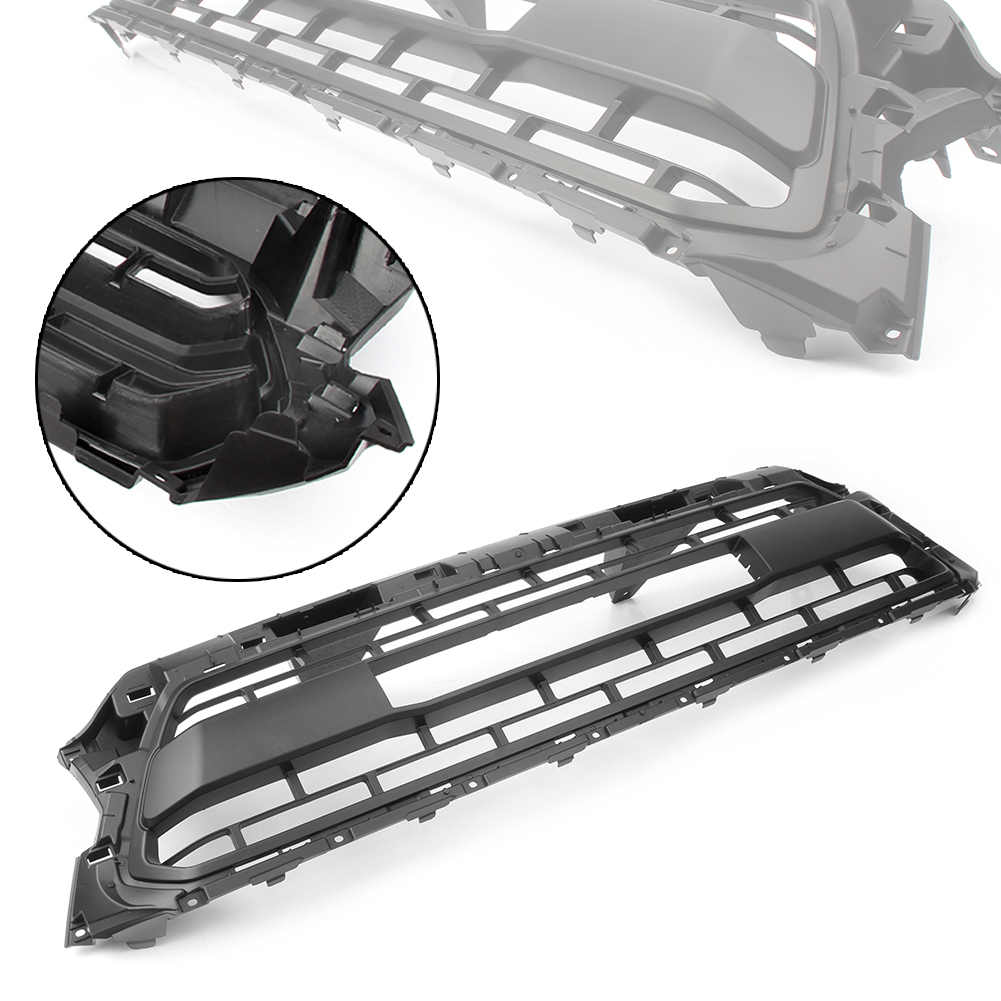 Front Upper Bumper Hood Grille Grill for Toyota TACOMA 2012 2013 2014 2015 Black ABS Plastic