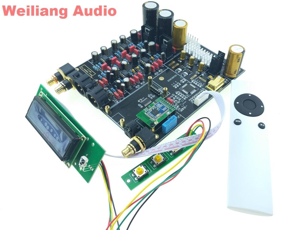 Bluetooth 5,0 Csr8675 Aptx Hp Gute WäRmeerhaltung Digital-analog-wandler Weiliang Es9038pro Es9038 Hifi Dac Dsd Decoder Xlr Dac Unterhaltungselektronik