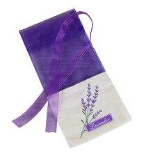30 шт пустые сумки для саше, портативные цветочные принты, красивые Лавандовые духи-саше, сумка для семян, для хранения сухих цветов A30