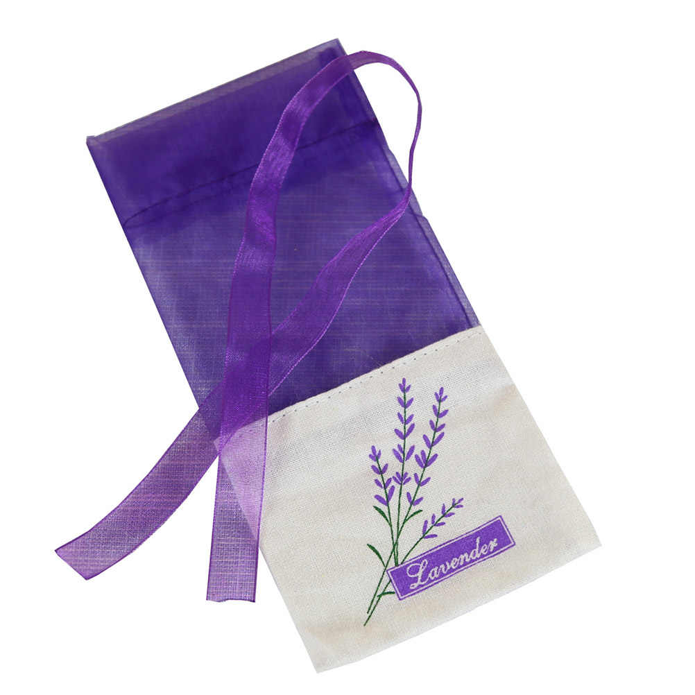 30pcs  Empty Sachet Bags Portable Flower Printing Beautiful Lavender Fragrance Sachet Bag for Seeds Dry Flowers Storage A30