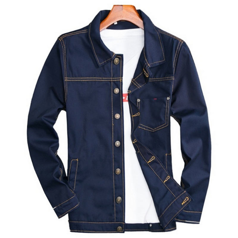 2019 Males's Denim Jacket prime quality trend Denims Jackets Slim match informal streetwear Classic Mens jean clothes Plus Dimension M-3XL Jackets, Low cost Jackets, 2019 Males's Denim Jacket prime...