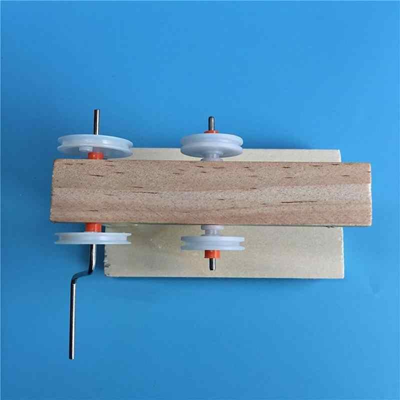 DIY Merakit Mainan Anak-anak Dinamo Generator Model Kayu Penemuan Fisik Percobaan Kit Ilmu Anak Kreatif Mainan Pendidikan