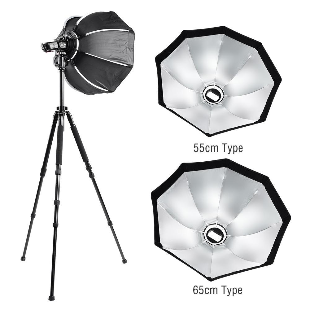 55 cm Octogone Parapluie Softbox avec poignée pour Studio Flash Light 2019 nouveauté