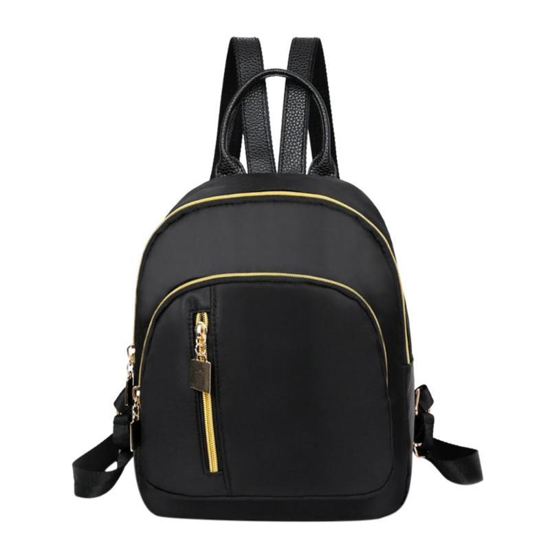 Women Nylon Backpack Preppy Casual Small Travel Shoulder Bags School Bag