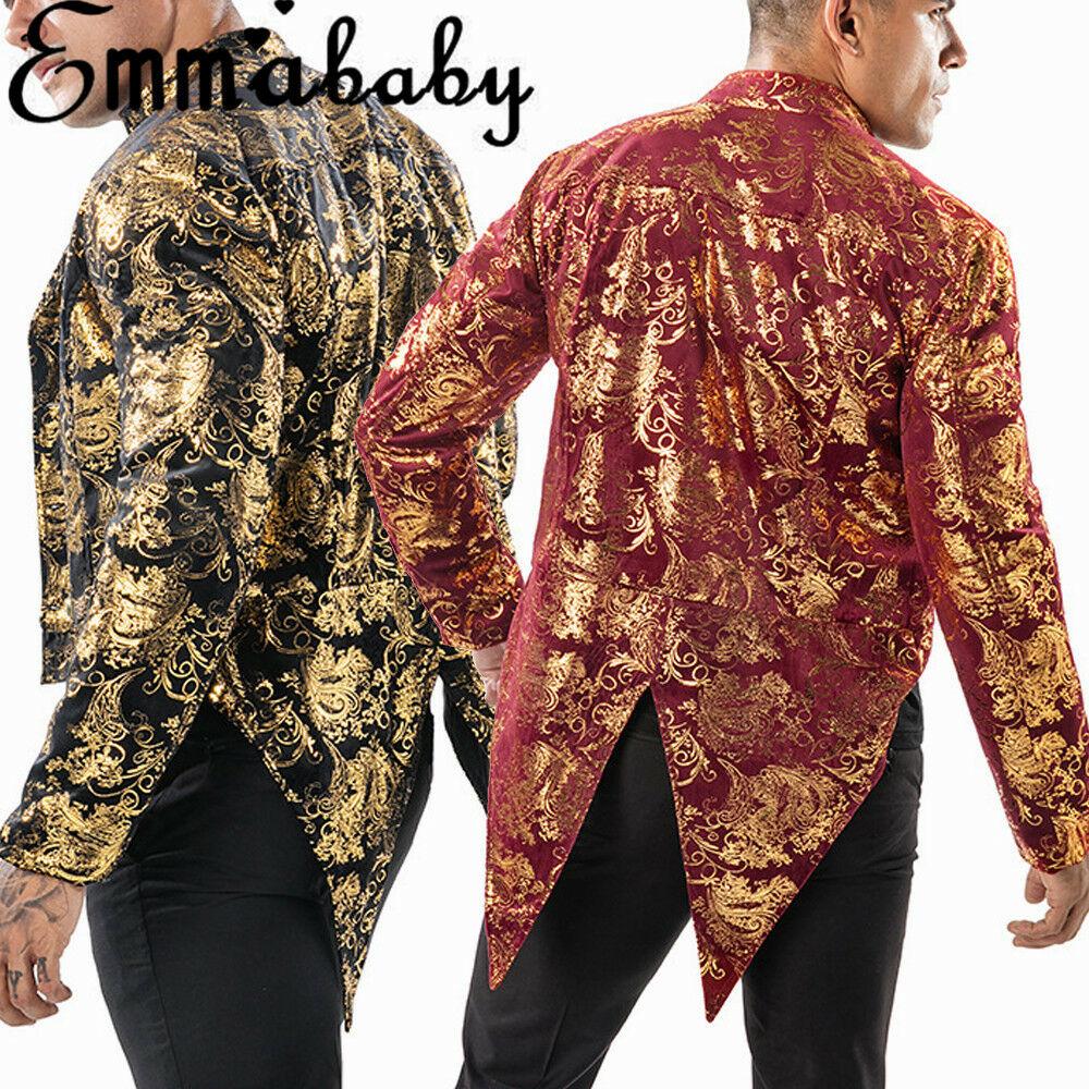 Spring Men's Stylish Luxury Casual Vintage Blazers Paisley Bodycon Blazer Urbane Smart Coat Suit Jacket Fashion