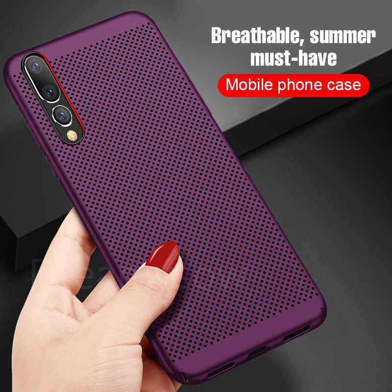 Panas Disipasi Case untuk Huawei P10 P20 P30 Lite Plus 10 20 Lite P8 P9 Lite P Smart 2019 nova 3 3i Pendingin Telepon Cover