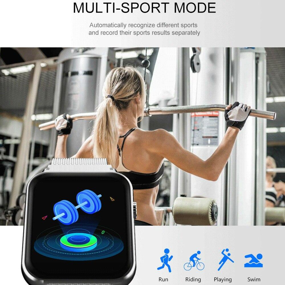 3D Ui Smart Watch Sport Waterproof Smart Activity Trackers