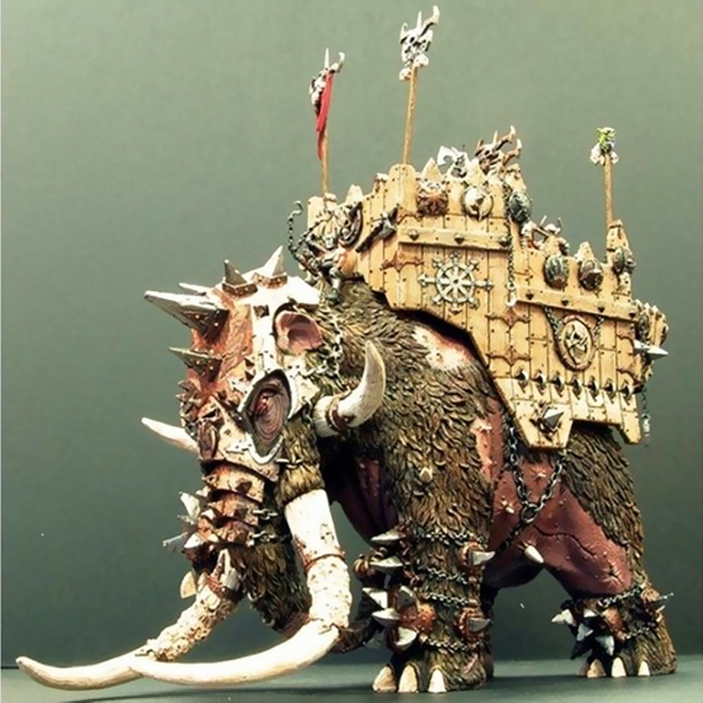 Image 2 - Chaos War Mammoth-in Model Building Kits from Toys & Hobbies