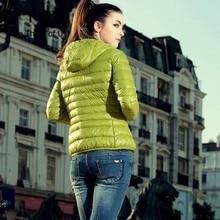 TTOU Women Winter Outwear Basic Jacket Coat Female Slim Hood