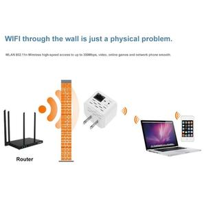 Image 4 - 300M Wireless WiFi Repeater 802.11N Signal Amplifier Range Extender Booster