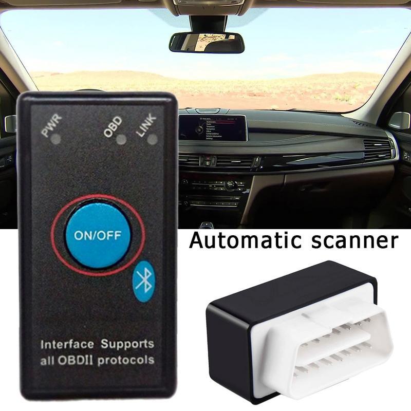 Super Mini Elm327 Bluetooth OBD2 V1.5 Elm 327V 1.5 OBD 2 Auto Diagnostic-tool Scanner Elm-327 OBDII Auto Adapter Diagnostic Tool