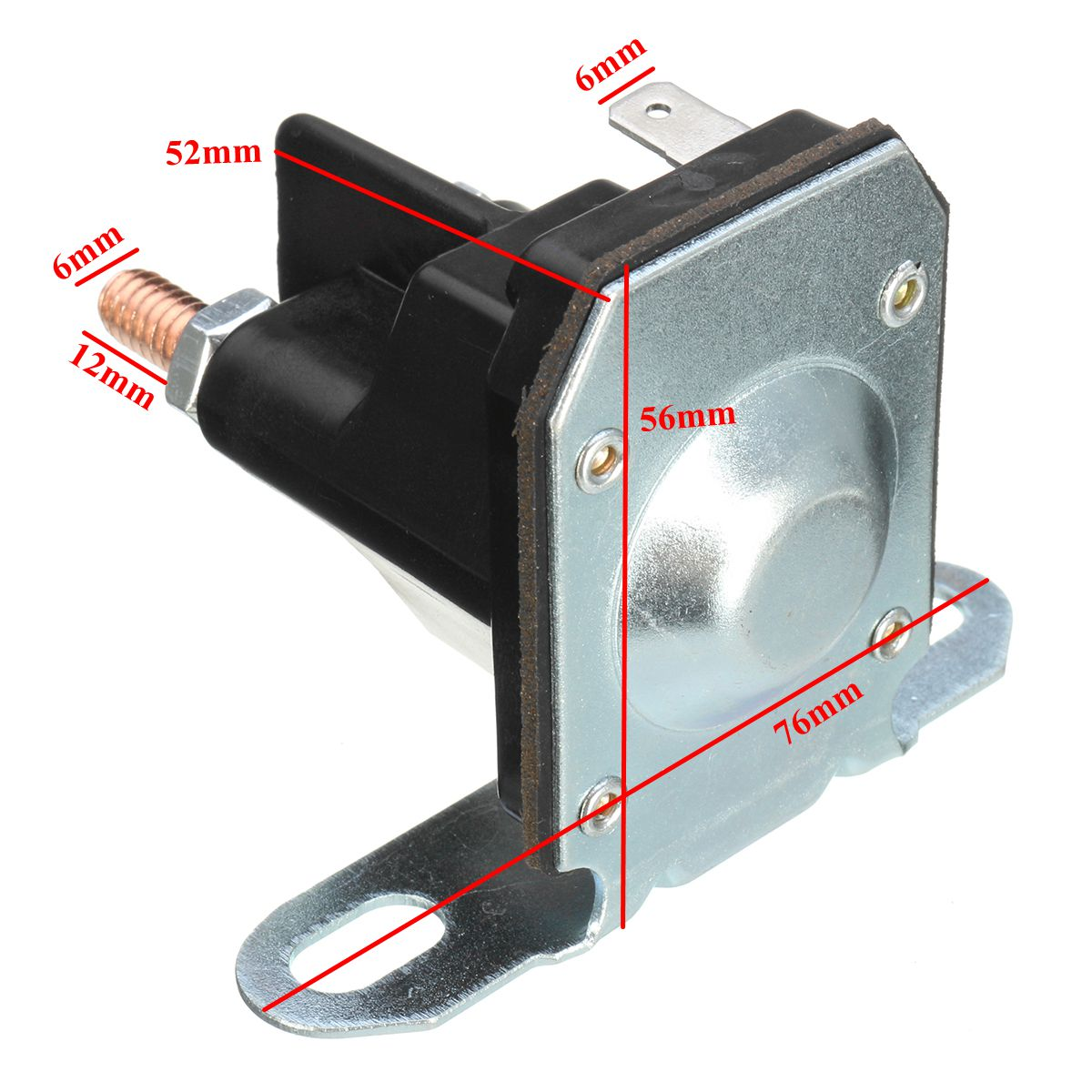 3 Pole Starter Solenoid Relay Switch Universal Stens For MTD Lawnmower