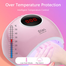72W UV LED Nail Lamp For Manicure(China)