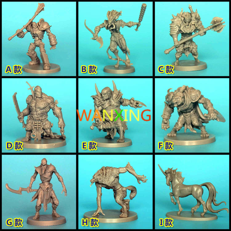 1/72 Scale CMON Board Role-playing Games Piece Resin Model Massive Darkness Endless Dark Light Messenger Ks Expand Promotion