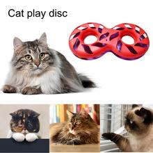 Pet Cat Spinning Disk Toy Funny Cat Entertainment Game Spring Ball Toy Cat Interactive Puzzle Increase Agile Toy on Aliexpress.com | Alibaba Group