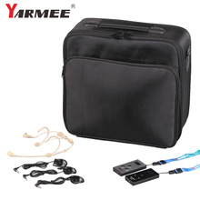 One Set YARMEE VHF Wireless Tour Guide System VHF frequency wireless microphone Transmitter+Receiver+earphone wireless tour guide system yt200 yarmee for museum tour guiding simultaneous interpreter wireless meeting