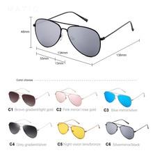 MATIC Clear Line Small Vintage Retro Women Sunglasses