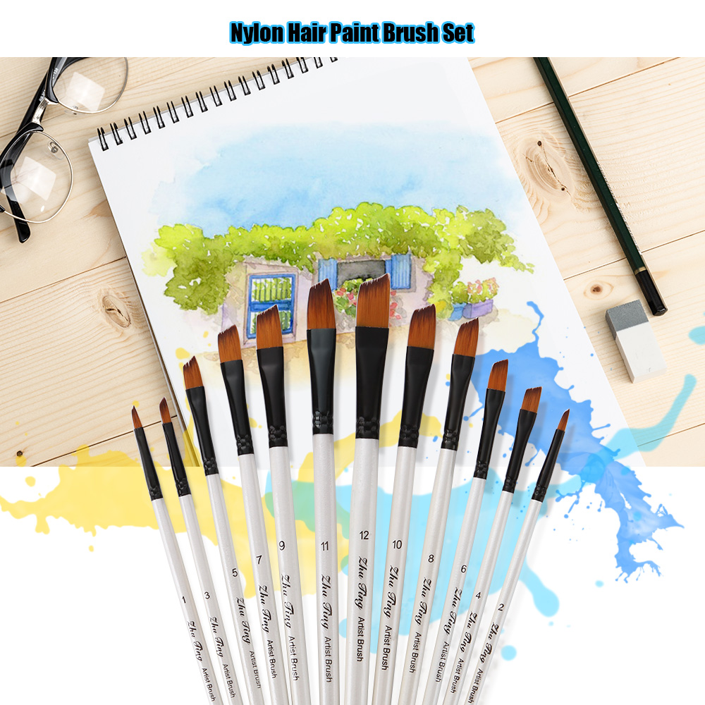 Artists Modelmakers Fine Detail Brush Kit Detailing Miniature Brushes LD