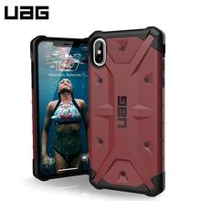 Защитный чехол UAG для iPhone XS Max серия Pathfinder цвет carmine/111107119696/32/4