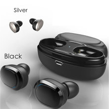 TWS Bluetooth Earphones Double Stereo Wireless Earbuds Bass Bluetooth Headset Handsfree For Smart Phone PC Pad Audio Call T12 цена