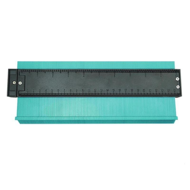 10 inch Shape Contour Duplicator Profile Gauge Scale Tiling Laminate Tiles Edge