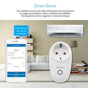 Image 5 - 3 pièces/lot Sonoff S26 WiFi prise intelligente type ue prise sans fil prises de courant commutateur de maison intelligente pour Alexa Google Assistant IFTTT