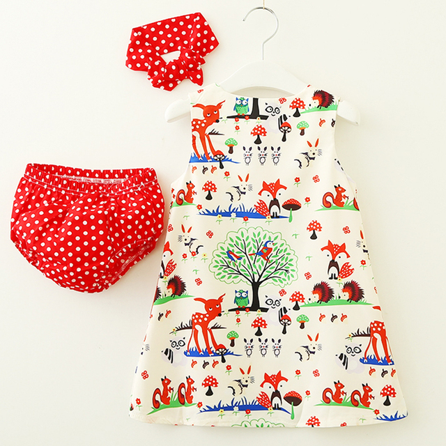 Newborn's Cotton Hooded Rompers