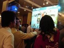 2 PCS 19 pouces 10 Tactile Points Capacitif Multi-touch Panneau Feuille, multi-Tactile Film pour interactif kiosque