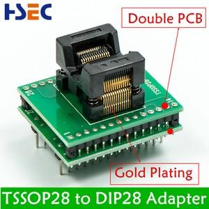 Image 3 - 11pcs SSOP28 TSSOP28 TSSOP8 SOP28 SOP20 SOP16 SOP8 to dip8 150mil 200mil 1.8V adapter compatible tssop20 ssop20 socket adapters