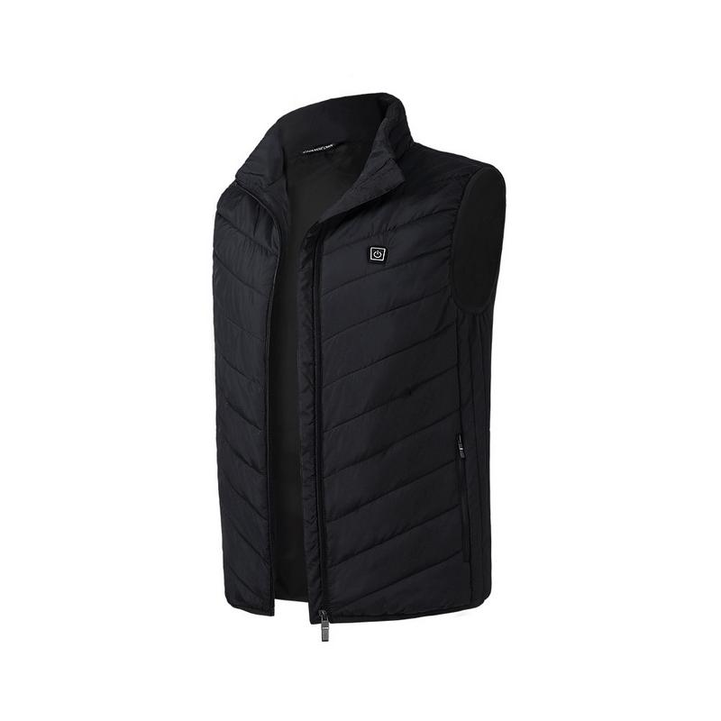 Winter Heated Jacket Usb Heater Hiking Vest Thermal Fishing Outdoor Usb Heating Electric Jacket