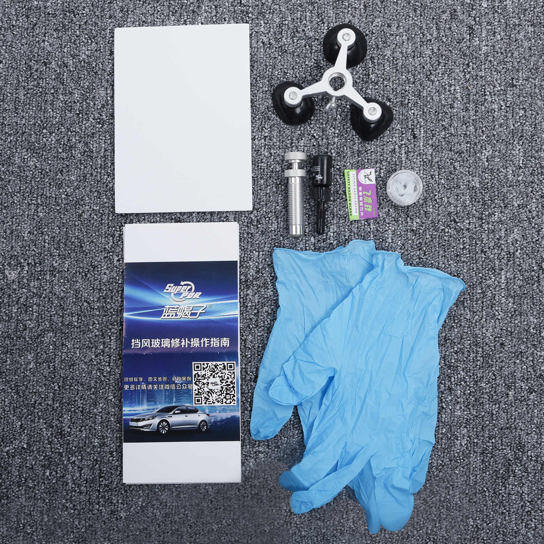السيارات السيارات الزجاج الأمامي الزجاج الأمامي ل الكراك طقم تصليح ذاتي الصنع أداة سبيكة مفيدة قطرة الشحن اكسسوارات السيارات