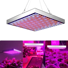 цены AC 85-265V 45W LED Indoor Plants Growing Light 3 Colors Blue+Red+White Square Plant Grow Lamp