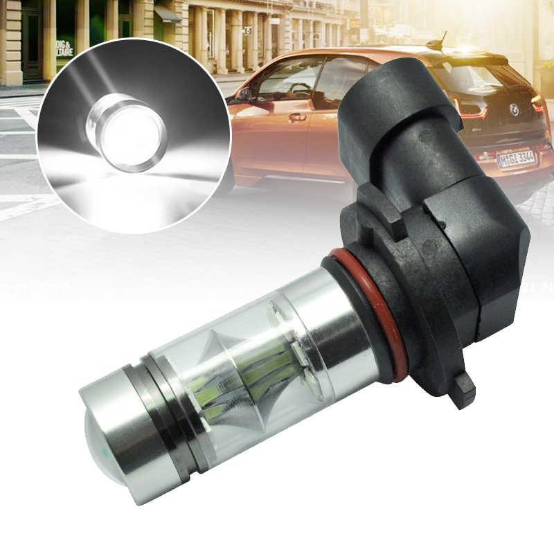 JXLCLYL 2 piezas H10 9145 100 W 2323 20LED coche niebla proyector Luz de bombilla blanca